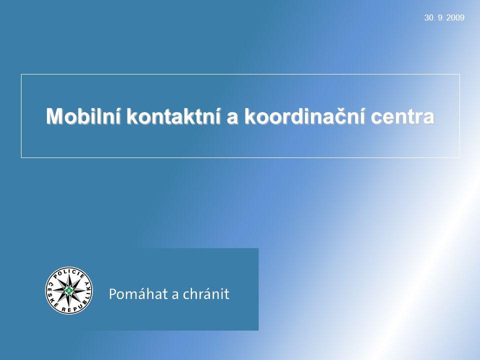 Mobilní kontaktní a koordinační centra