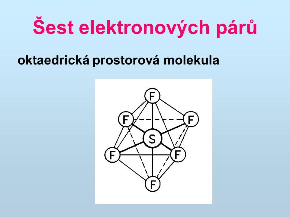Šest elektronových párů