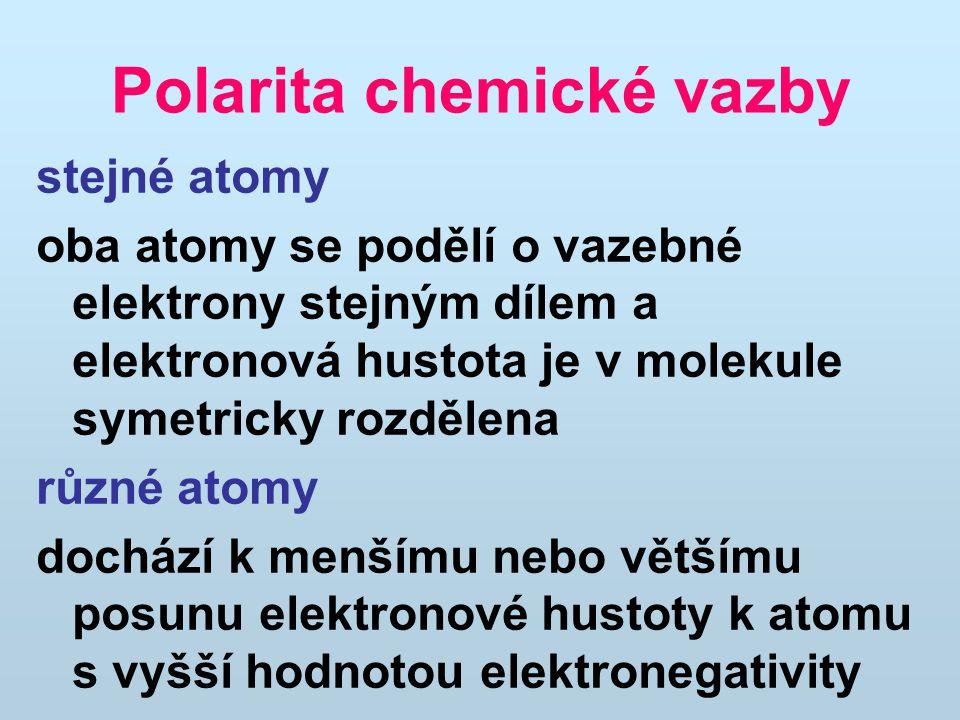Polarita chemické vazby