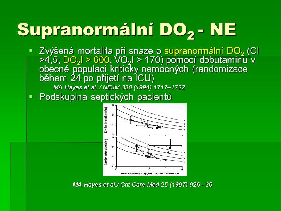 Supranormální DO2 - NE