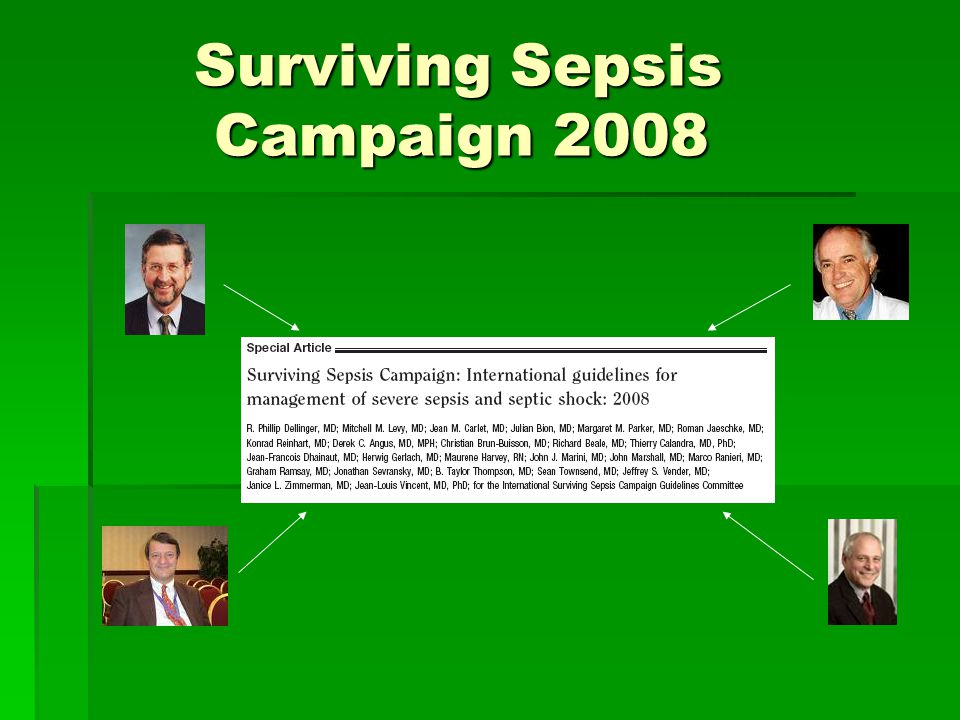 Surviving Sepsis Campaign 2008