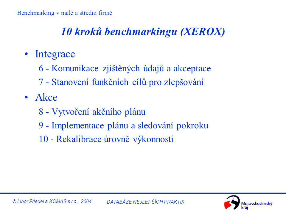 10 kroků benchmarkingu (XEROX)