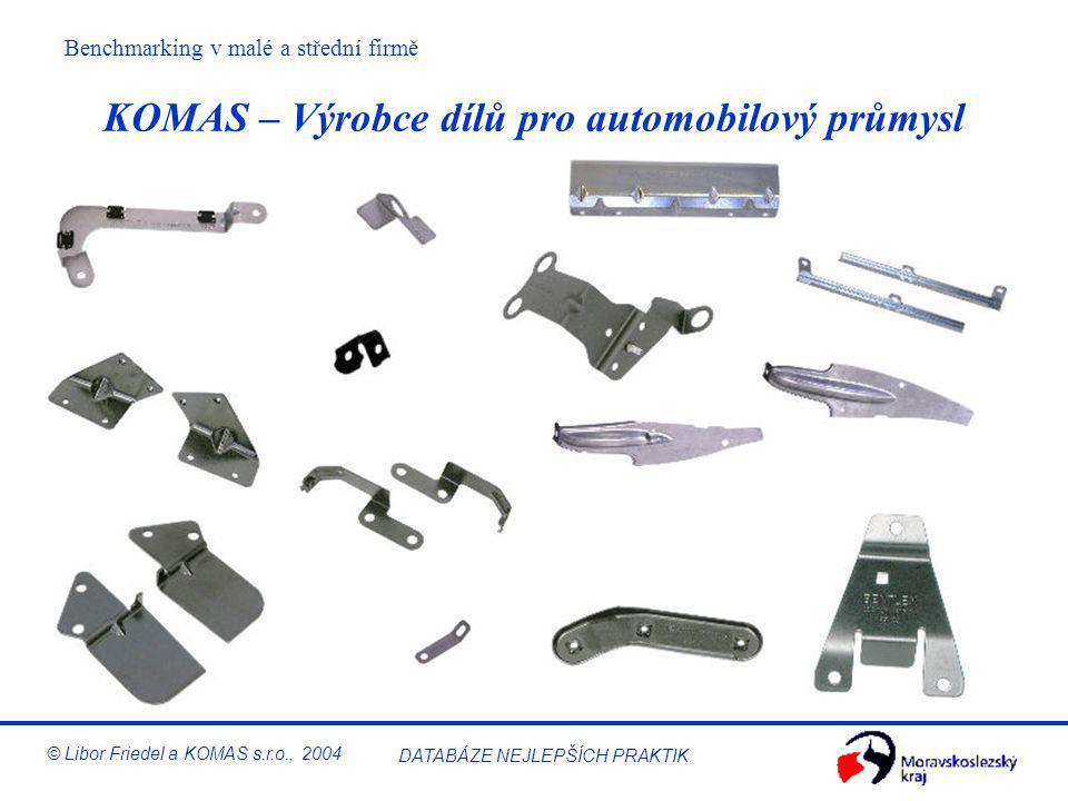 KOMAS – Výrobce dílů pro automobilový průmysl