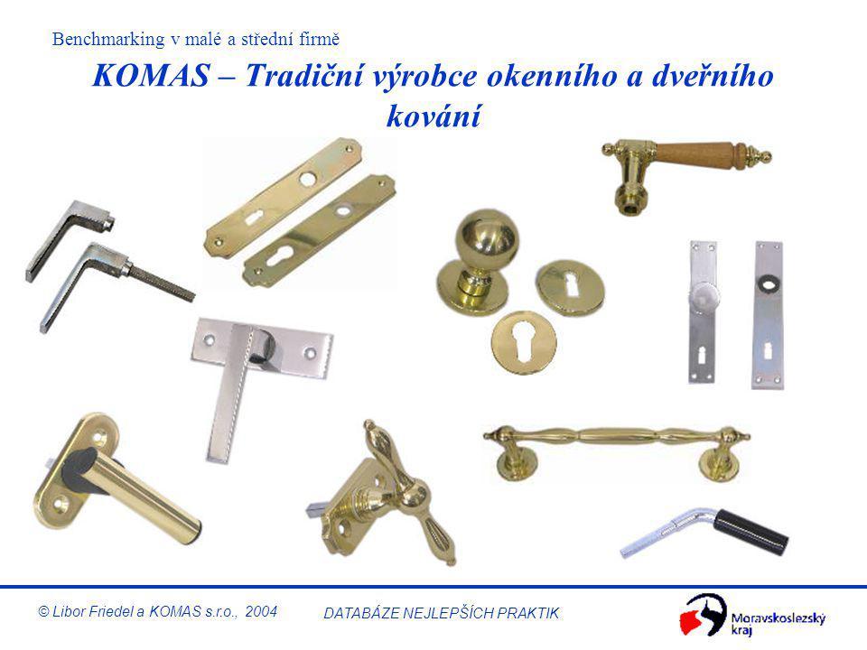 KOMAS – Tradiční výrobce okenního a dveřního kování