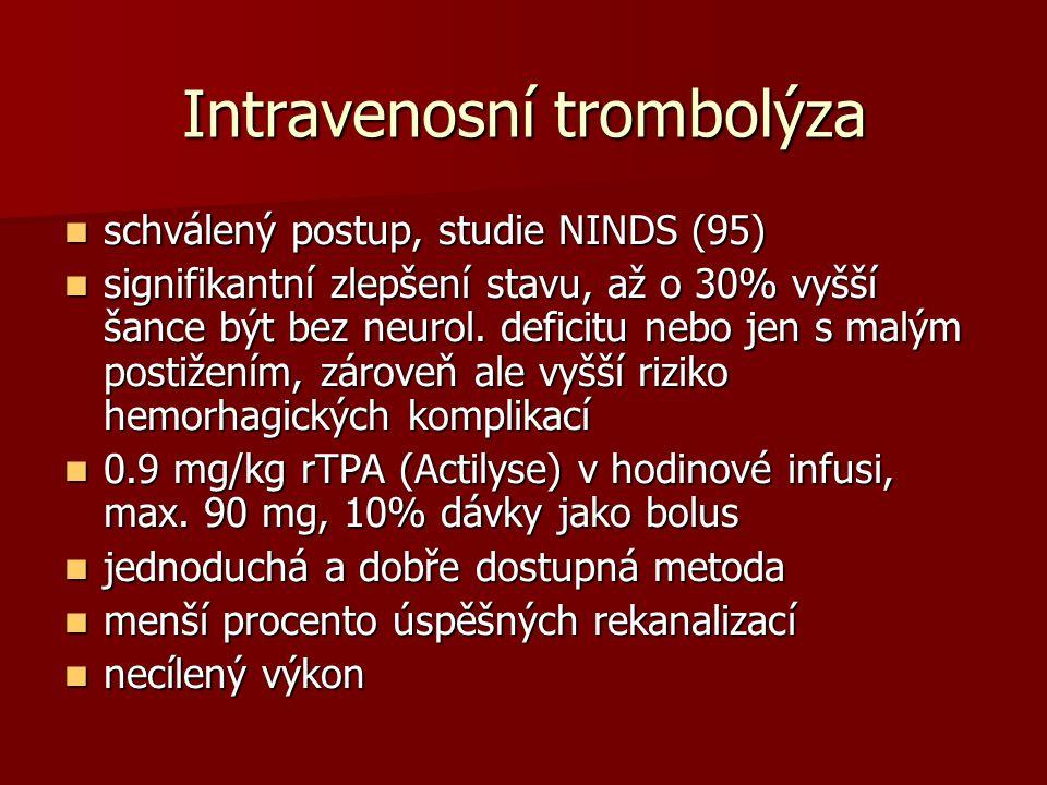 Intravenosní trombolýza