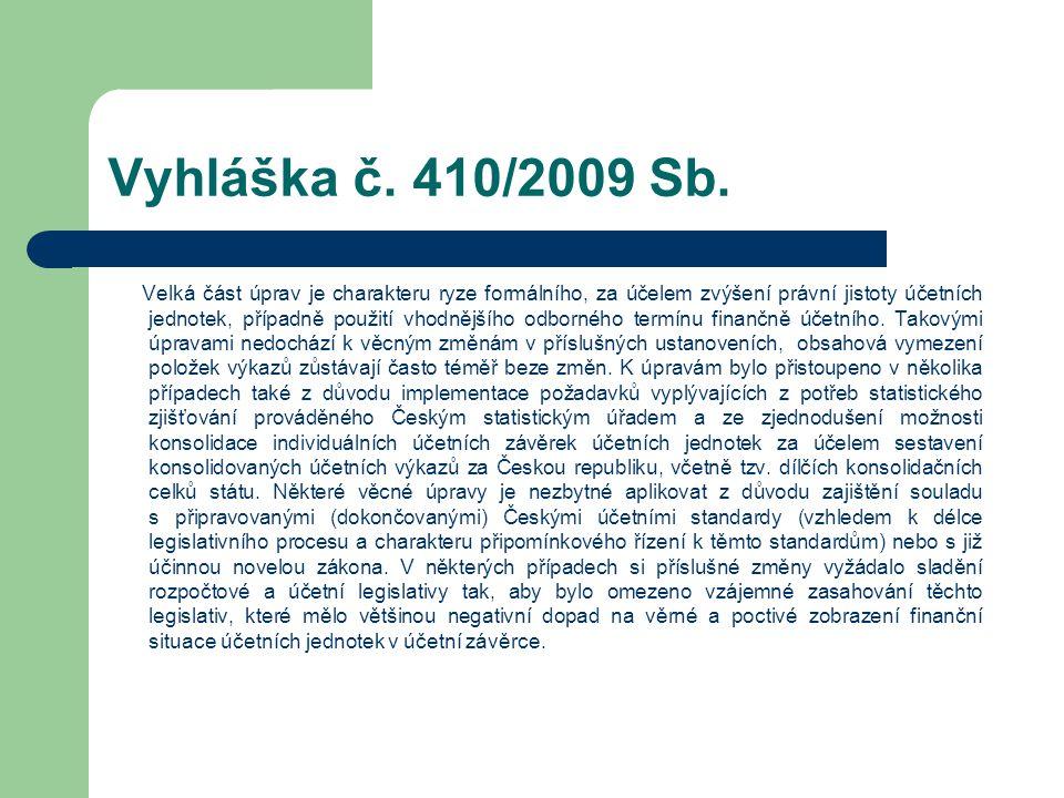 Vyhláška č. 410/2009 Sb.