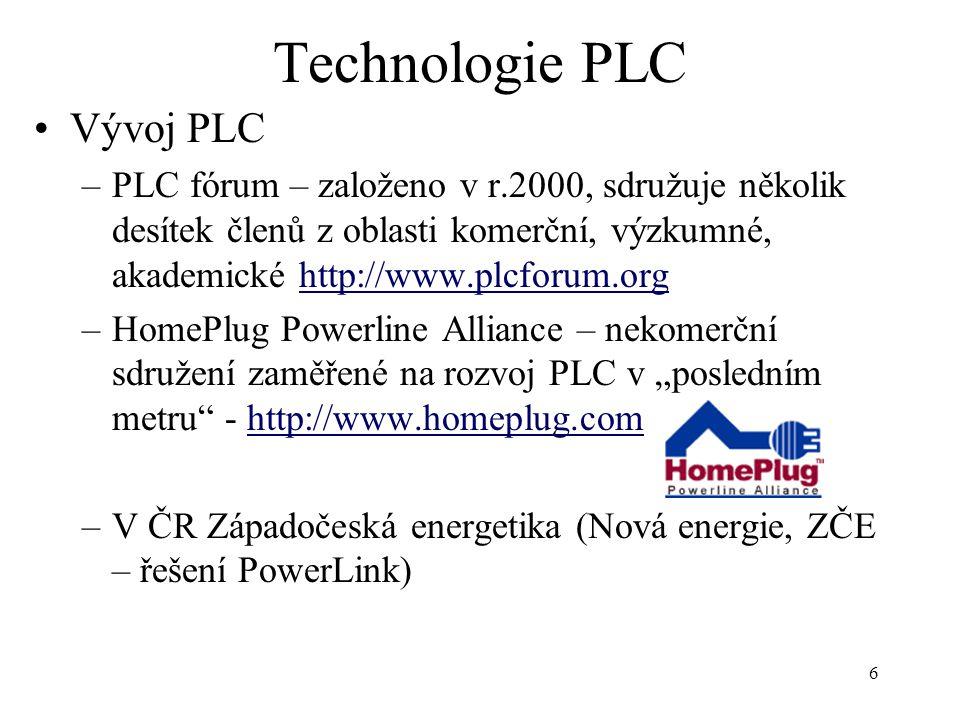Technologie PLC Vývoj PLC