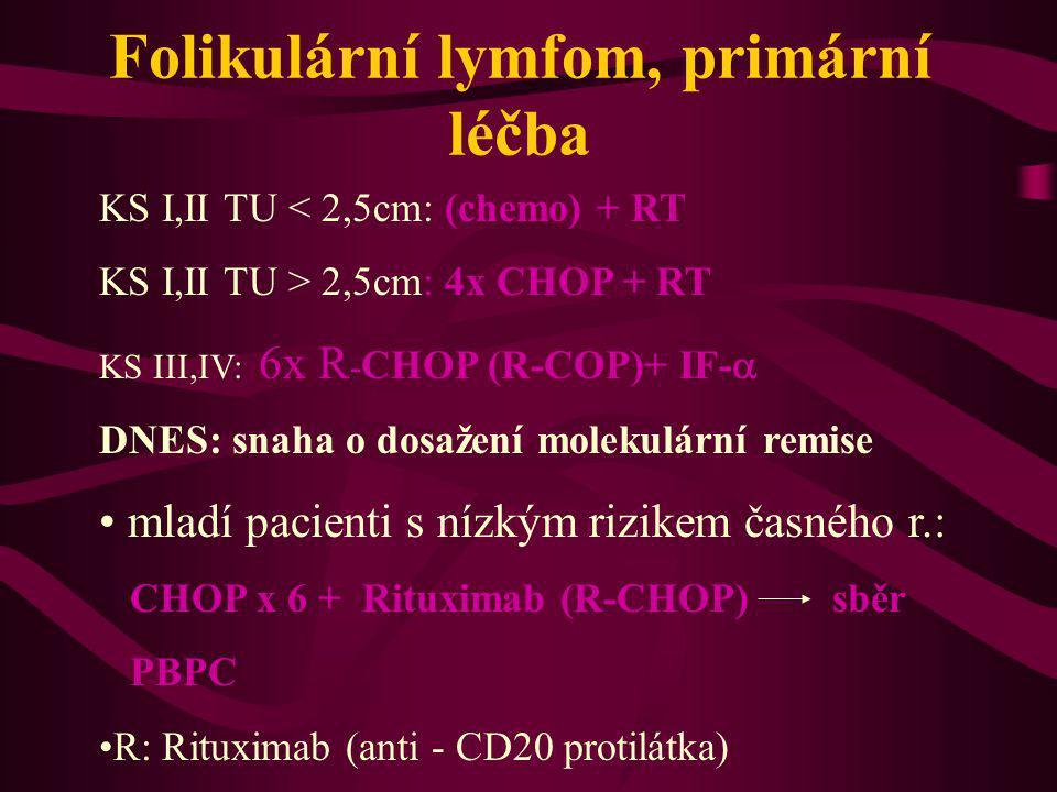 Folikulární lymfom, primární léčba