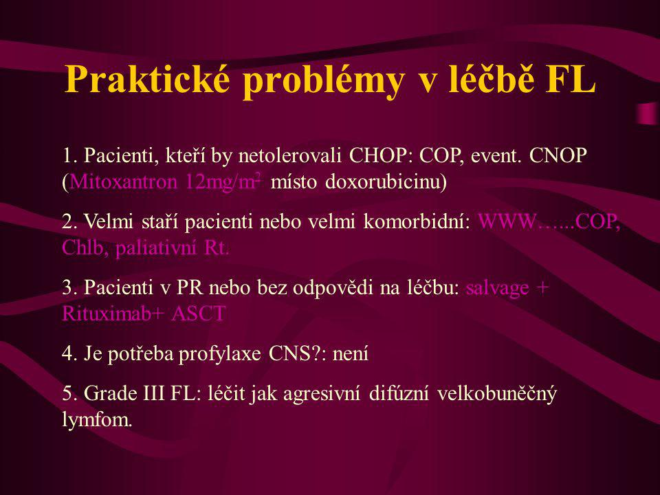Praktické problémy v léčbě FL