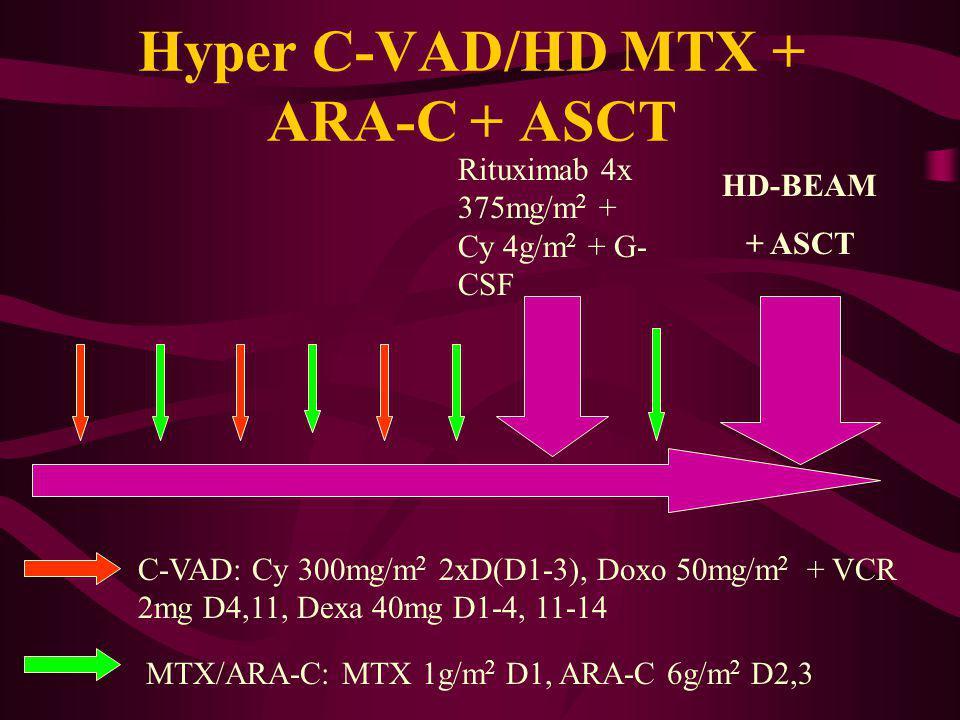 Hyper C-VAD/HD MTX + ARA-C + ASCT