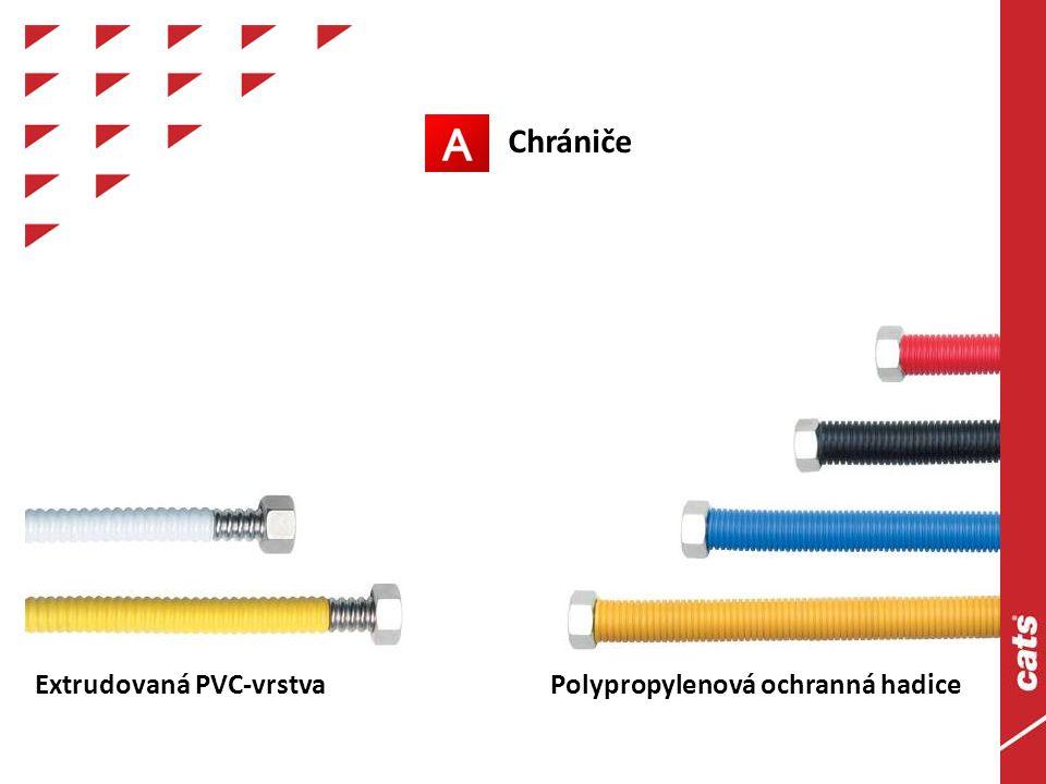 Extrudovaná PVC-vrstva Polypropylenová ochranná hadice