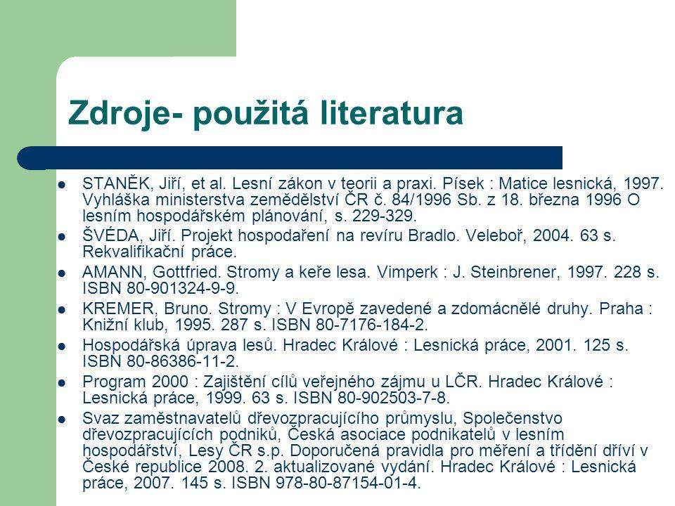 Zdroje- použitá literatura