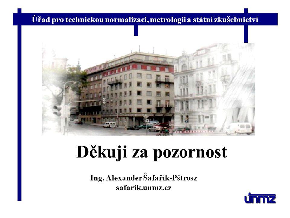 Ing. Alexander Šafařík-Pštrosz