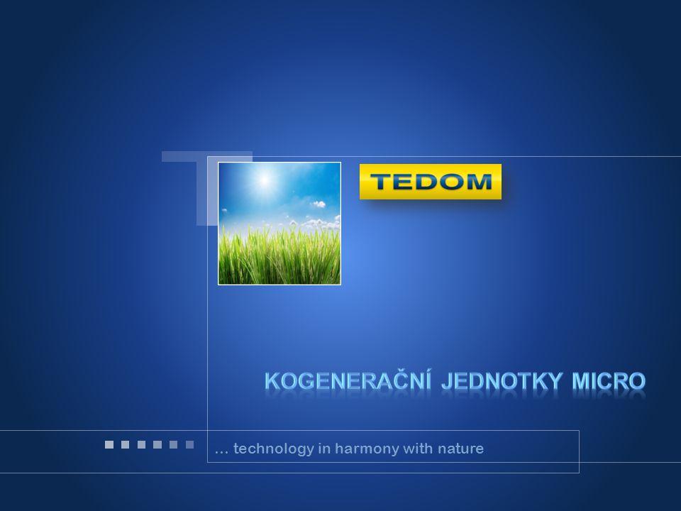Firemní profil Kogenerační jednotky micro