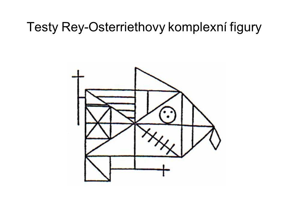Testy Rey-Osterriethovy komplexní figury