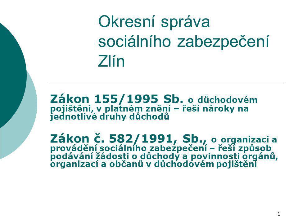 Okresní správa sociálního zabezpečení Zlín