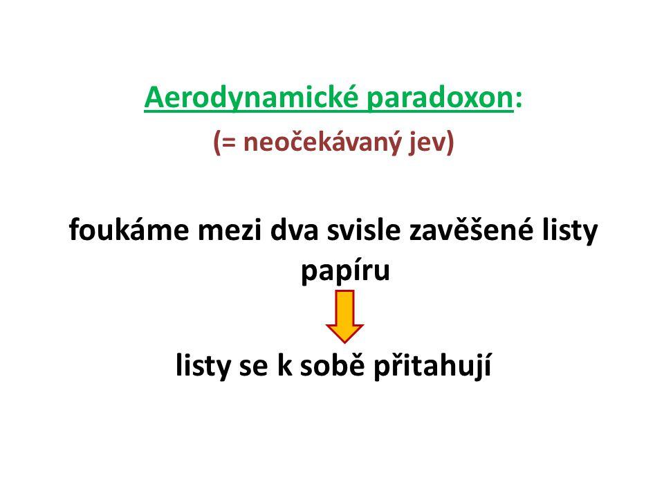 Aerodynamické paradoxon: