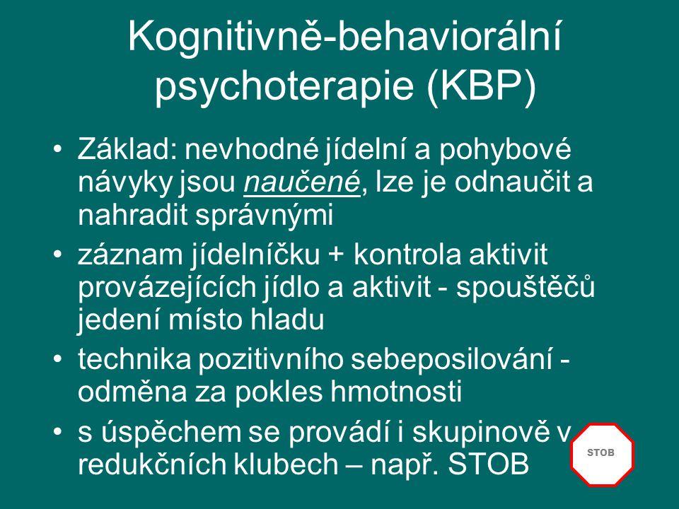 Kognitivně-behaviorální psychoterapie (KBP)