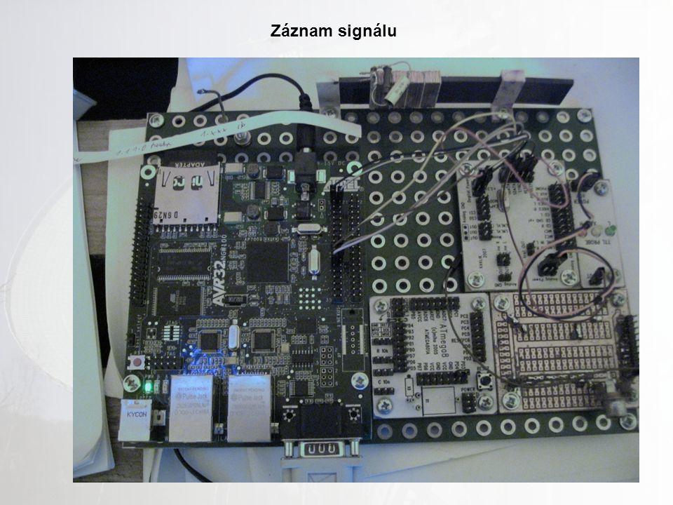 Záznam signálu
