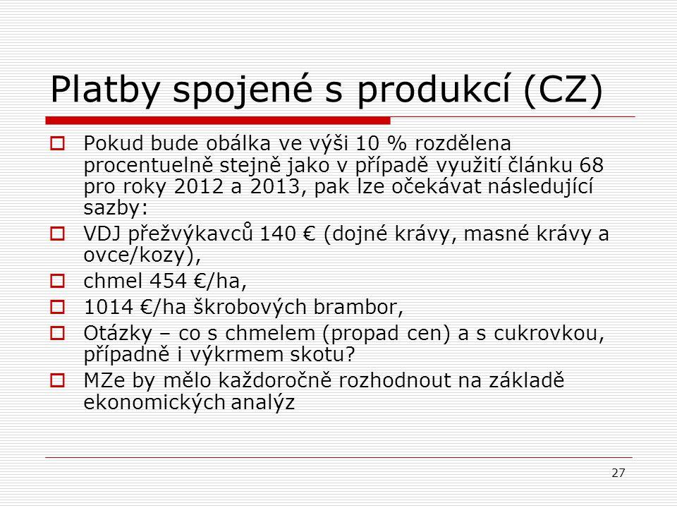 Platby spojené s produkcí (CZ)