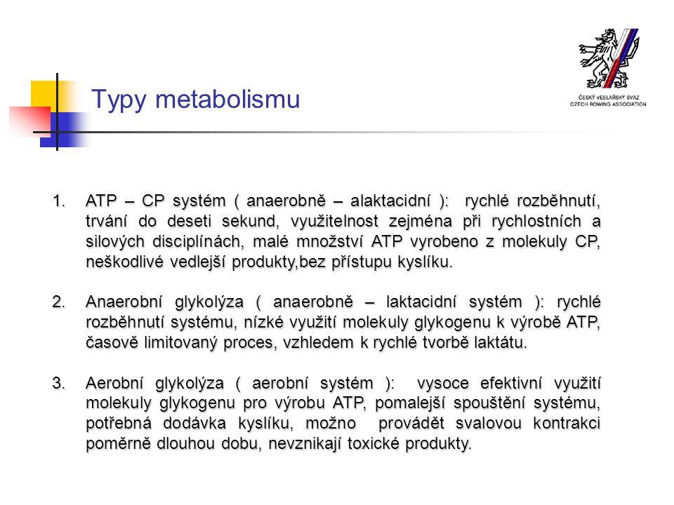 Typy metabolismu