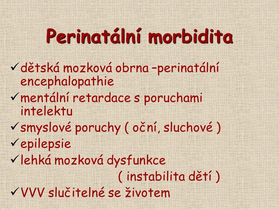 Perinatální morbidita
