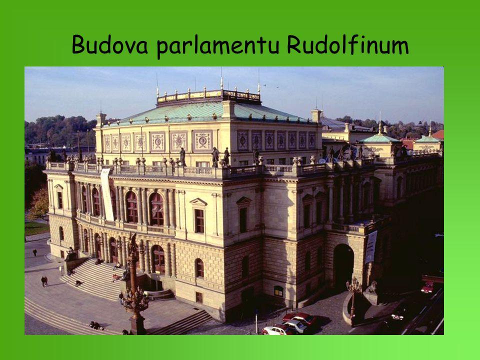 Budova parlamentu Rudolfinum