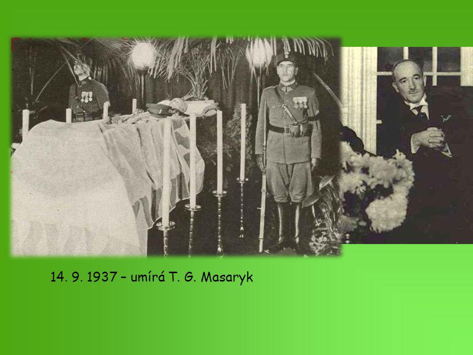 T. G. Masaryk zvolen prezidentem čtyřikrát
