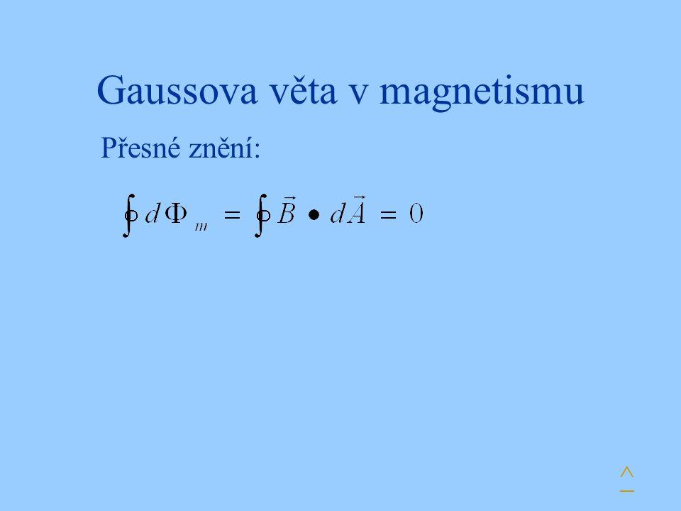 Gaussova věta v magnetismu