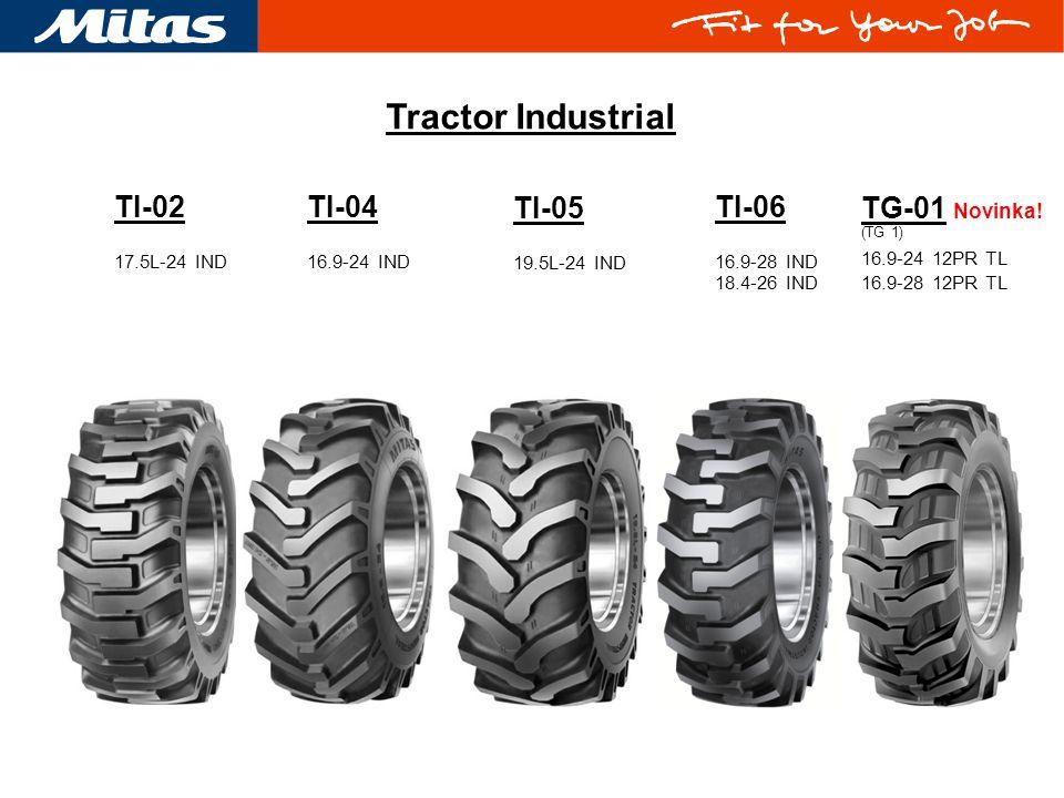 Tractor Industrial TI-02 TI-04 TI-05 TI-06 TG-01 Novinka! 17.5L-24 IND