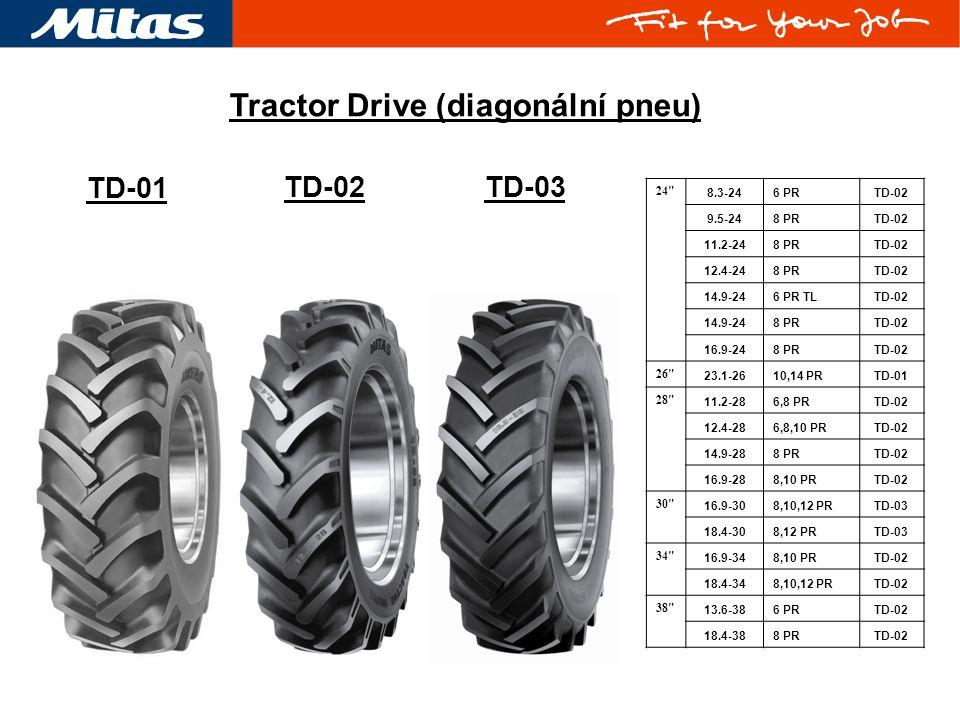 Tractor Drive (diagonální pneu)