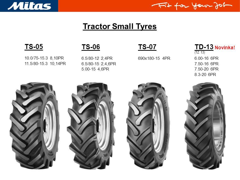 Tractor Small Tyres TS-05 TS-06 TS-07 TD-13 Novinka!