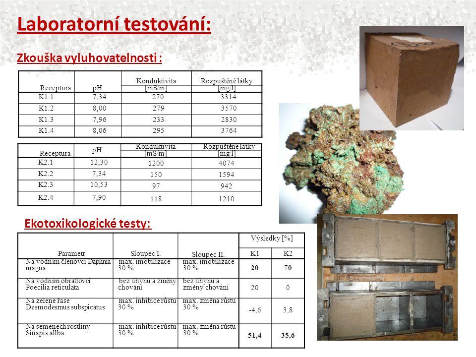Laboratorní testování: