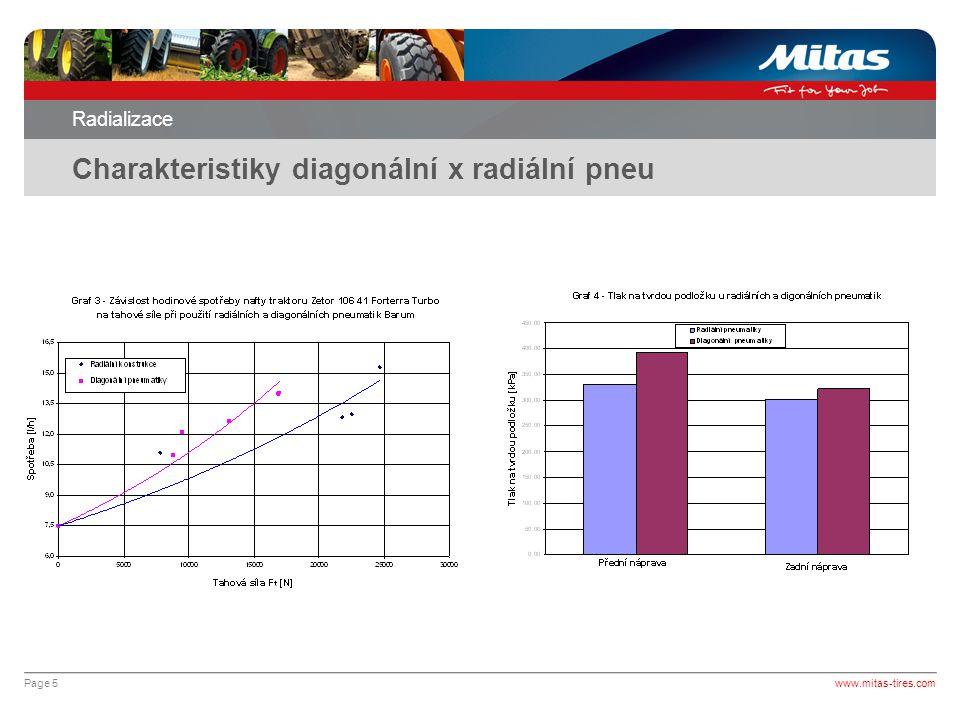 Charakteristiky diagonální x radiální pneu