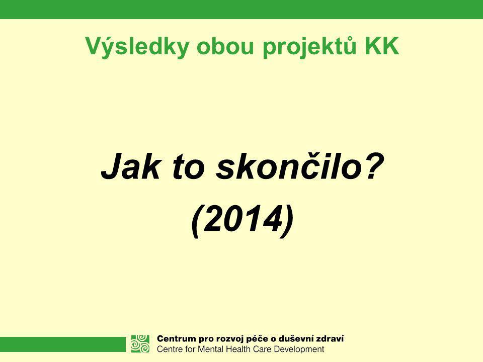 Výsledky obou projektů KK
