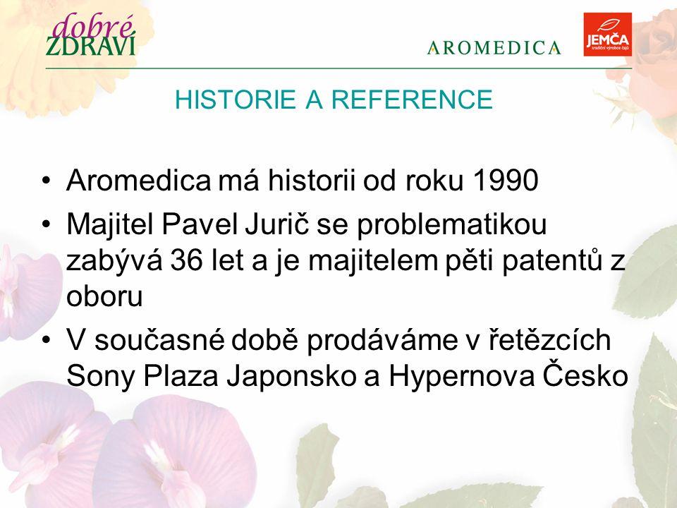 Aromedica má historii od roku 1990