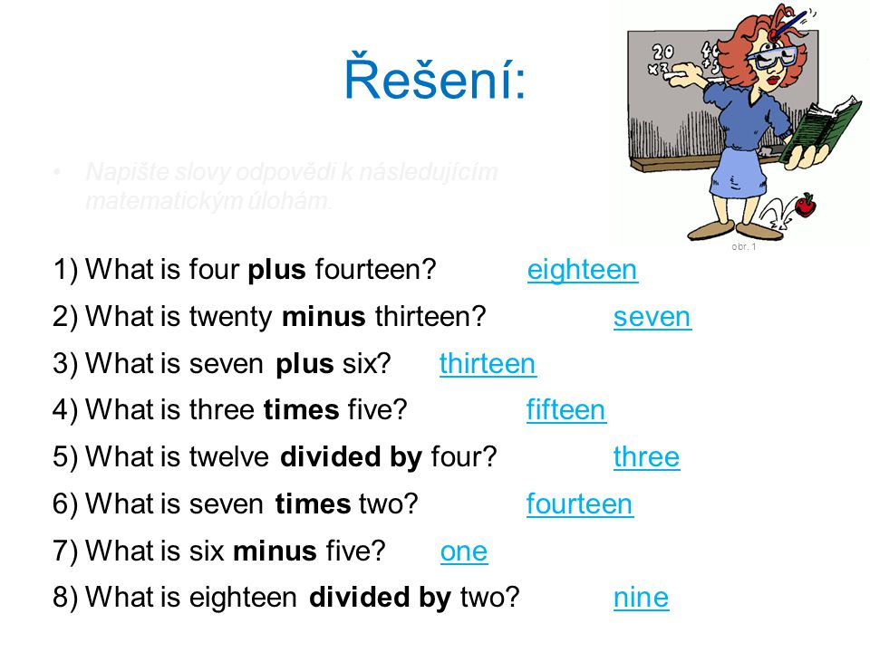 Řešení: What is four plus fourteen xxxeighteenxxx