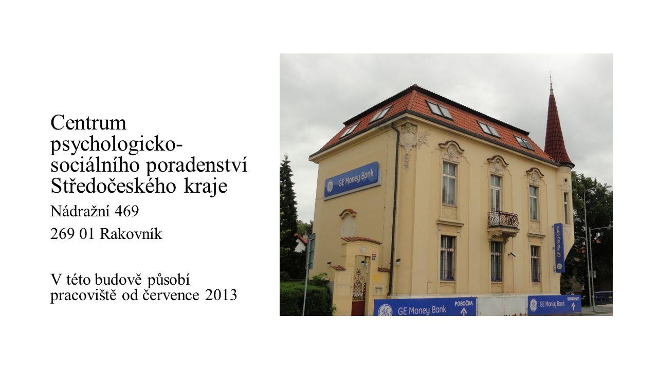 Centrum psychologicko- sociálního poradenství Středočeského kraje