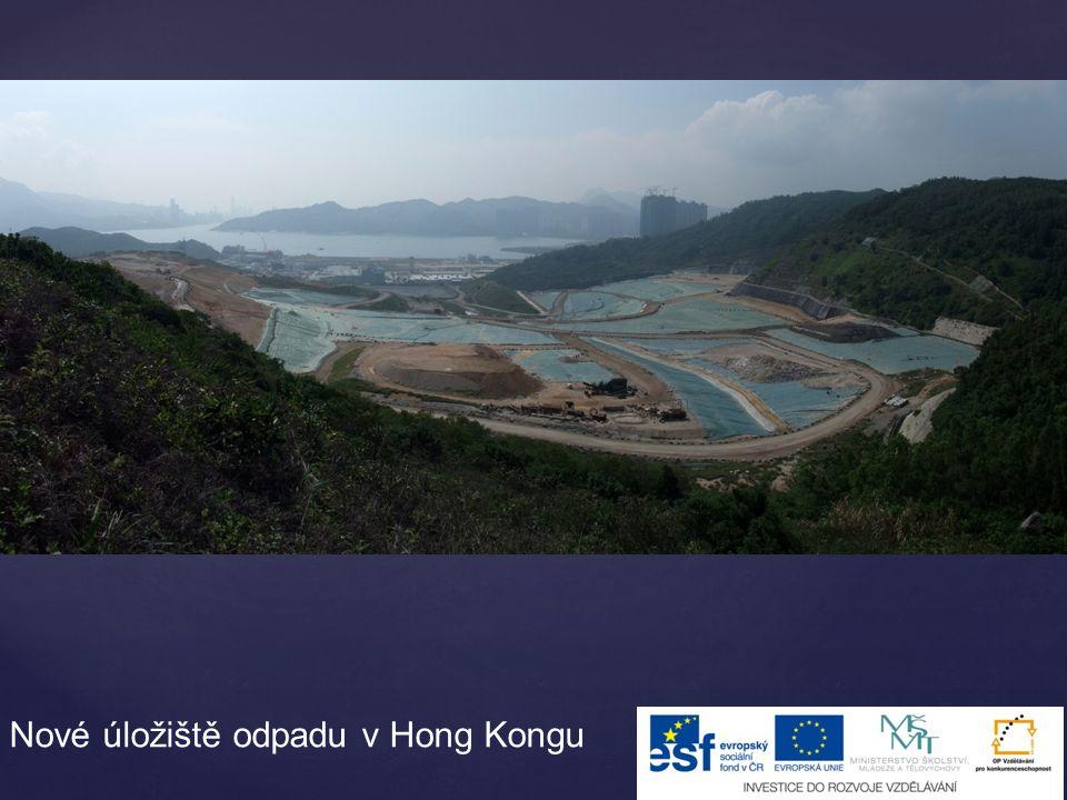 Nové úložiště odpadu v Hong Kongu