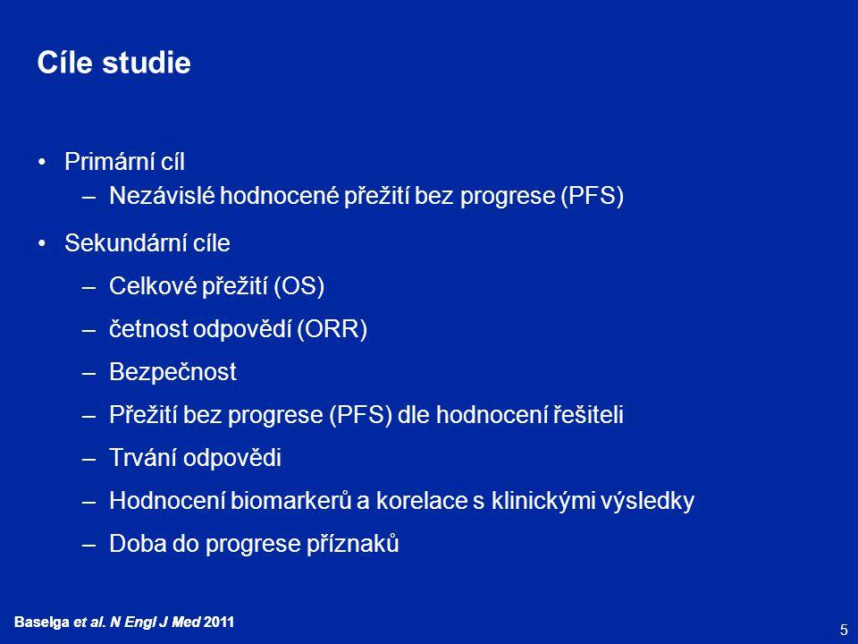 Cíle studie Primární cíl
