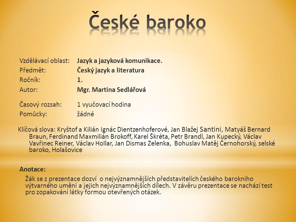 České baroko