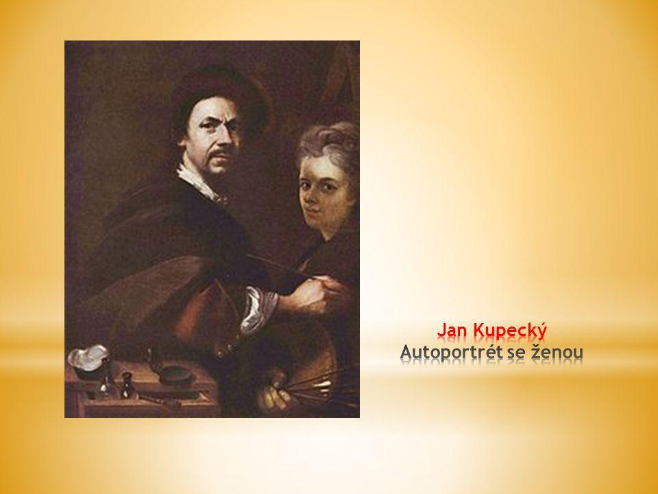 Jan Kupecký Autoportrét se ženou