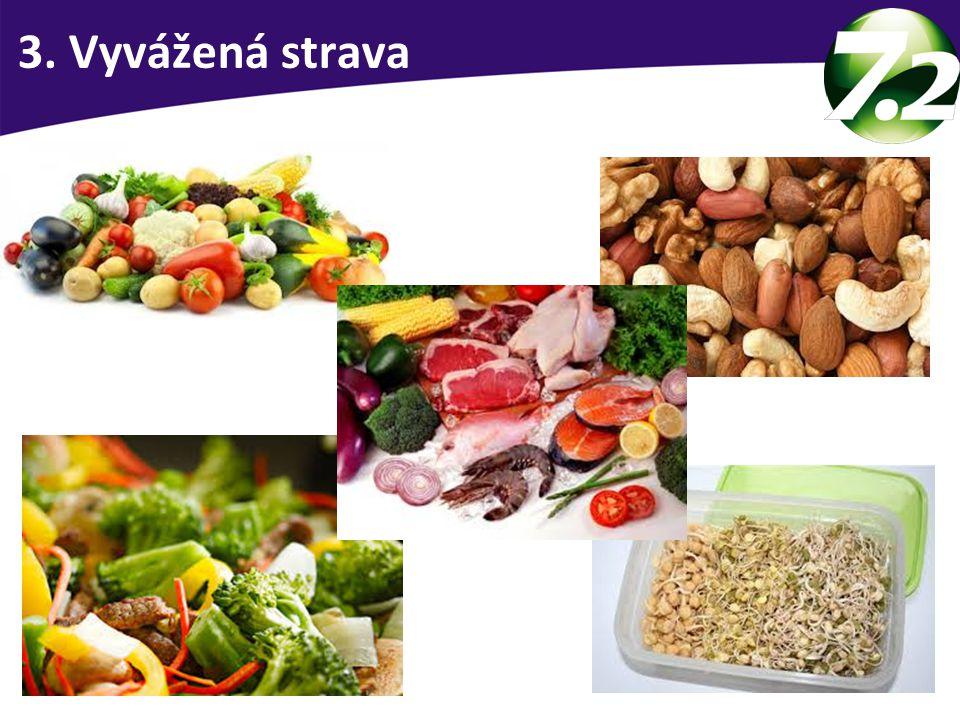 3. Vyvážená strava
