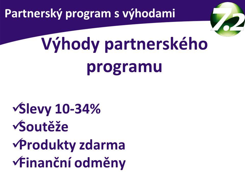 Výhody partnerského programu