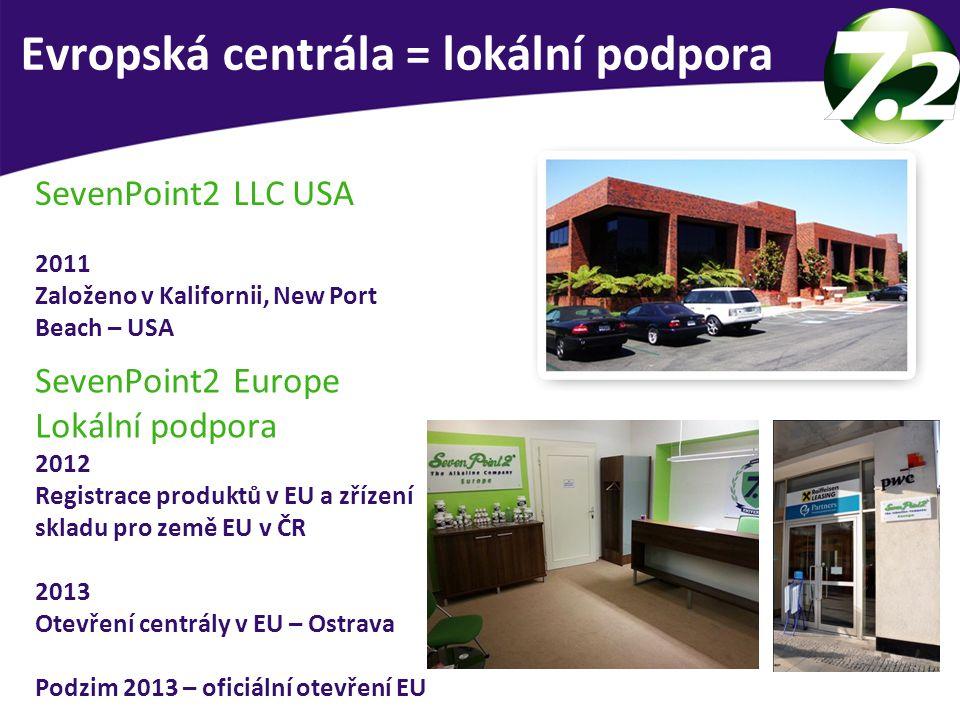 Evropská centrála = lokální podpora