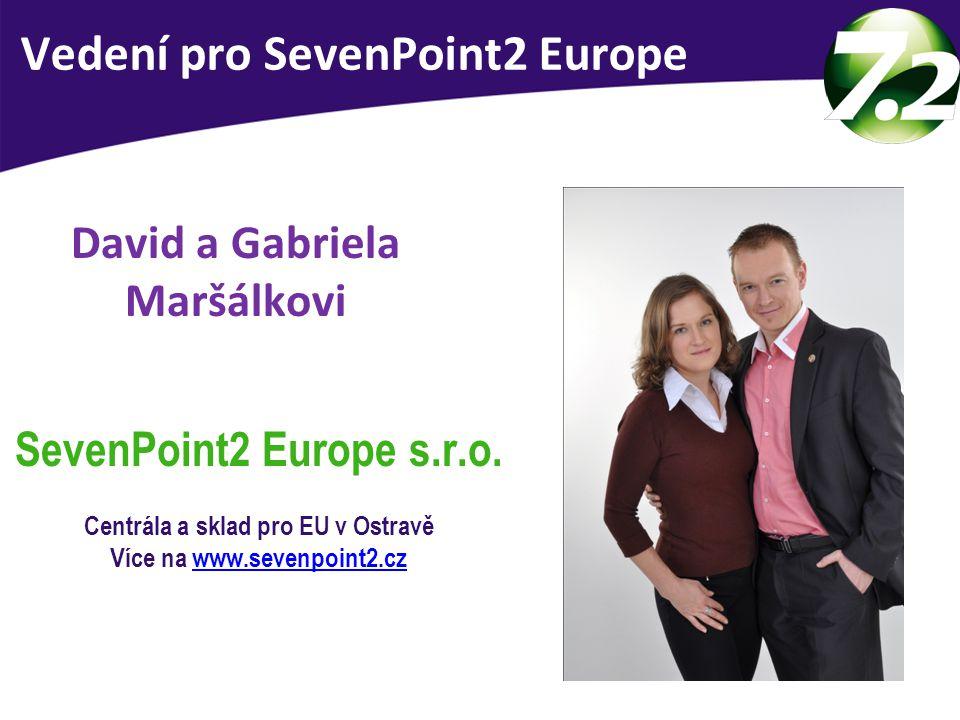 Vedení SevenPoint2 Europe Vedení pro SevenPoint2 Europe