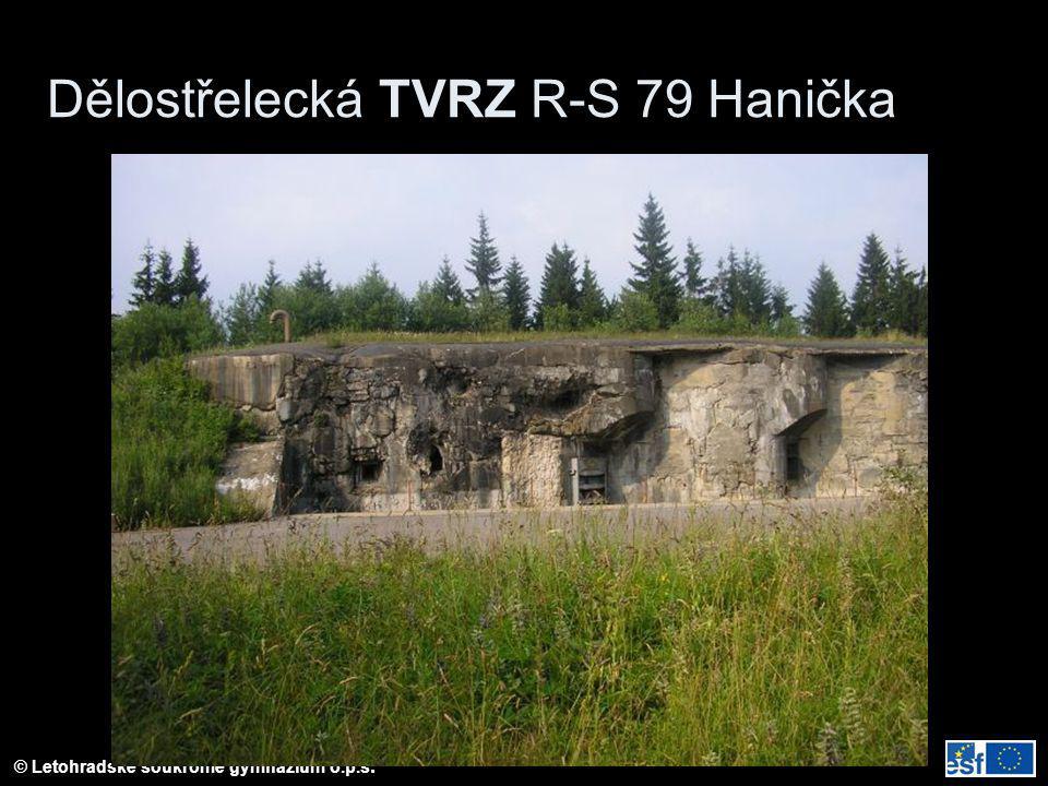 Dělostřelecká TVRZ R-S 79 Hanička