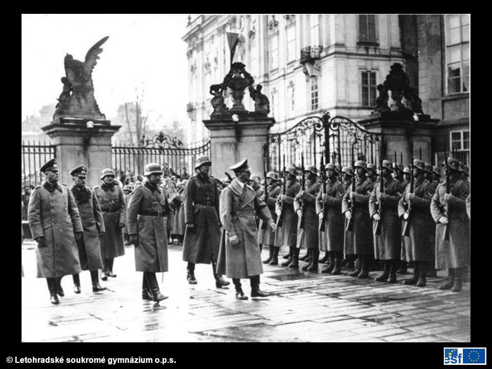 Příjezd Hitlera do Prahy 15. 3. 1939
