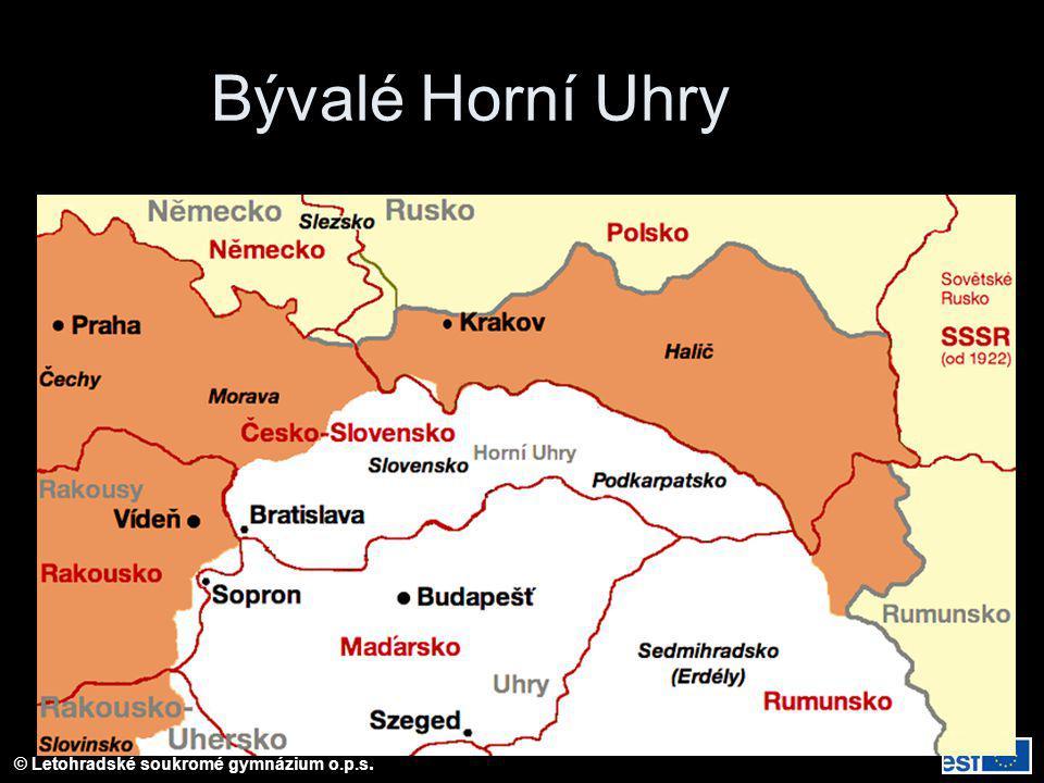 Bývalé Horní Uhry