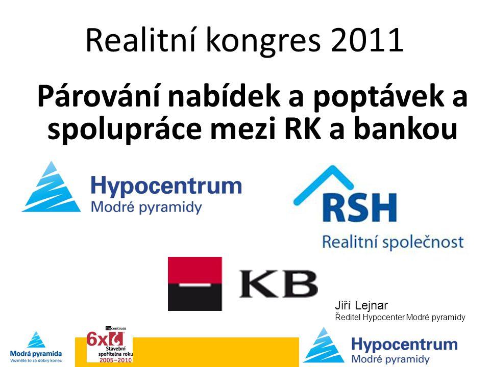 Párování nabídek a poptávek a spolupráce mezi RK a bankou